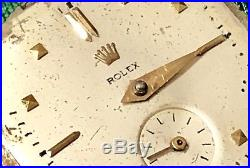 ROLEX Cioccolatone AUTOMATIC 4645 Dial + Movement + Hands TO BE RESTORED Vintage