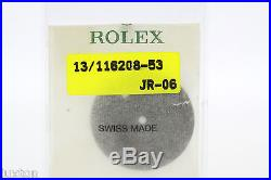 ROLEX Datejust 116208 -53 Black Dial with rose Gold Numbers & Hands (1992)