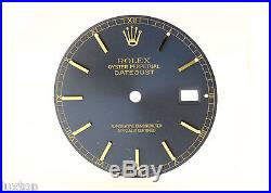 ROLEX Datejust 16008 18 Blue Dial with Hands and Date Wheel (1991)