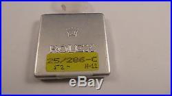 ROLEX Datejust Diamond Lady size dial 19,8mm + hands set