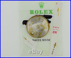 ROLEX Datejust Ladies 69178 Golden Tritium Watch Dial & Hands Excellent (ZB217)