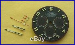 ROLEX Daytona 116509 Black Arabic Dial & Hand Set Chromalite Blue GENUINE OEM