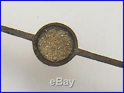 Rolex Genuine Set Of Zinc Sulfide Flat Gilt Hands Submariner 5512 5513 Rare