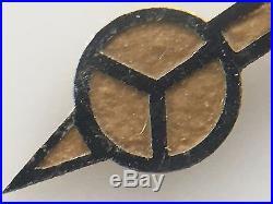 Rolex Genuine Set Zinc Sulfide Flat Hands Submariner 5512 5513 Gilt Era Radium