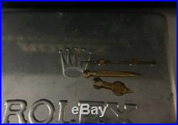 ROLEX ORIGINAL SUBMARINER TRITIUM GILT HANDS 1680,5512-13 Gold Color withDark