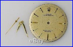 ROLEX Oyster Perpetual Men's Watch Dial Diameter 28 mm Cal 645 incl. HandsB2595