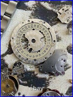 ROLEX SUBMARINER Movement Parts Ref 3135 For 16110 Watch hands bracelet 93150
