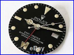Rolex Vintage Gmt-master 1675 Tritium Dial With Matching Set Of Hands Patina