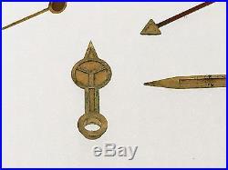Rolex Vintage Tritium Gilt Hands For Gmt-master 6542 1675 Mini Hand Very Rare