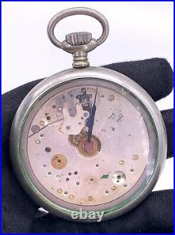Railway Regulator WATTMAN hand manual 52,5 mm NO Funciona for parts pocket watch