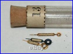 Rare BUHL Peer & Keefe Wristwatch Radium Hand Assortment. 179T