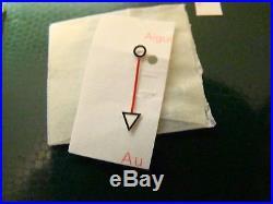 Rare Genuine Rolex Gmt Tritium Complete Set Hands Cal. 3075 Ref. 1675 /0 Nos