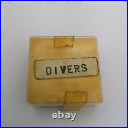 Rare Lot of Vintage 1960s Mixed Divers Watch Hands Parts with Lume (BP56)
