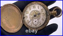 Rare The Plan Watch Tornado Hand Manuale Vintage 51,5 MM No Funziona For Parts