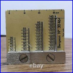 Record Military Dirty Dozen WWW Hour & Minute Radium Watch Hands Parts (BP76)