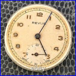 Revue 59 Doesn'T Works For Parts Hand Manual 26,6 MM Vintage Watch