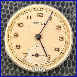 Revue 59 NO Funciona For Parts Hand Manual 26,6 mm Vintage Watch Reloj