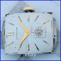 Rn4 Works Runs Accurate 9l Longines 17j Mens Watch Movement Dial Hands Parts