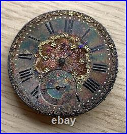 Rob Roskell Liverpool Hand Manuale 43 MM No Funziona For Parts Tasca Watch