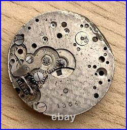 Rolex 1364 Hand Manual 23,5 MM Doesn'T Works For Parts Swiss Watch