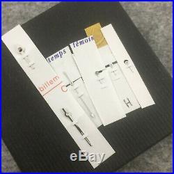 Rolex 6239 6263 6265 DAYTONA COMPLETE HANDSET GREEN LUMI, WHITE TIP & COMPAX NOS
