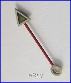 Rolex Cal 1675 GMT Big Arrow Hand Red stem Tritium Genuine Watch Part used