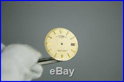 Rolex DateJust 2Tone Champgne Dial Hands Pie Pan Non Quickset Slow Set 1601 Gold