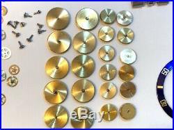 Rolex DateJust/GMT Master/Submariner Insert/Crystal / Hands / Date disc. Parts
