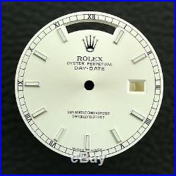 Rolex Day Date President Silver Dial & Hands Ref 118206 118239