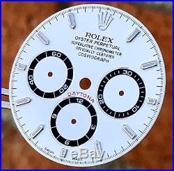 Rolex Daytona 16520 White Dial with Hands Stainless Steel Zenith Movement ORIGINAL