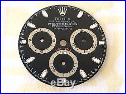 Rolex Daytona Cosmograph Black Dial And Hands Ref. 116520 100% Genuine