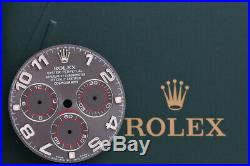 Rolex Daytona Slate Racing Dial With Hands for model 116520 116509 FCD8648