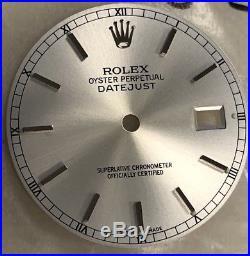 Rolex Factory Datejust Watch Dial Inc Hands Set Rare NEW