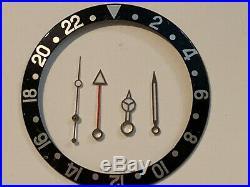 Rolex GMT-Master 16750 Black Bezel Insert and Hands +