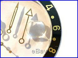 Rolex GMT Master Bezel Insert with Gold font Hands Crystal