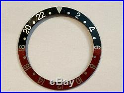 Rolex GMT Master COKE model Bezel Insert Hands and Crystal FREE SHIPPING