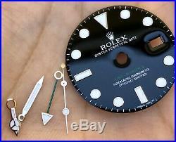 Rolex GMT-Master II 116710 Super Luminova Dial Hands & Bezel ORIGINAL