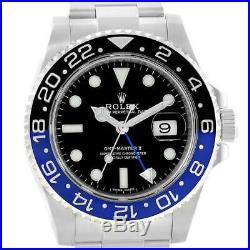 Rolex GMT Master II Batman Watch Hands. 116710 Blue hands Genuine Rolex Parts