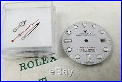 Rolex Genuine Yachtmaster Platinum Dial and Hands for model 16622