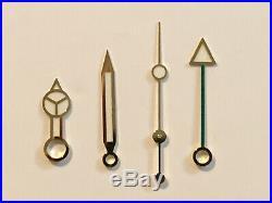 Rolex Gmt Master II Hands 116710 116713 Green Genuine Luminova Gold Hands