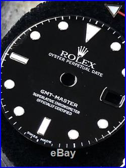Rolex Gmt Master Ref. 16750 Original Service Dial And Hands For Parts