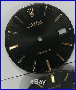 Rolex Oyster Date Precison Original Vintage Dial & Hands For Ref 6694