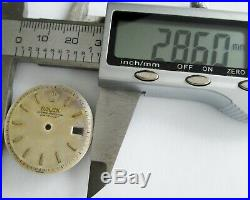 Rolex Oyster Perpetual Date Just Ref. 6605 Case Crystal Dial Crown Hands Parts