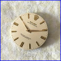 Rolex Oyster Perpetual Ref. 6564 Vintage Case, Dial And Hands 100% Genuine