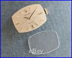 Rolex Precision Women's Watch parts Dial, Crystal, Hands, Crown, 1400 Movement