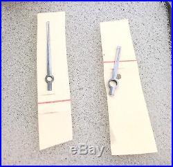 Rolex Rare NOS Early Chronograph Hands 6238 6239 Long Hour