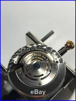 Rolex Submariner 5513 Dial, Hands, Bezel, 1520 Movement Vintage & All Genuine