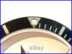 Rolex Submariner Bezel Insert Black 16800, Hands and Crystal 30.5mm. Genuine