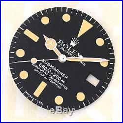 Rolex Submariner Date 1680 Vintage Tritium Dial Matching Hands Amazing Patina