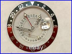 Rolex Submariner/GMT Master Coke Insert / Crystal / Hands / Disct date. Genuine